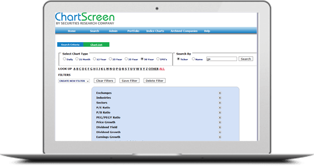 Chartscreen
