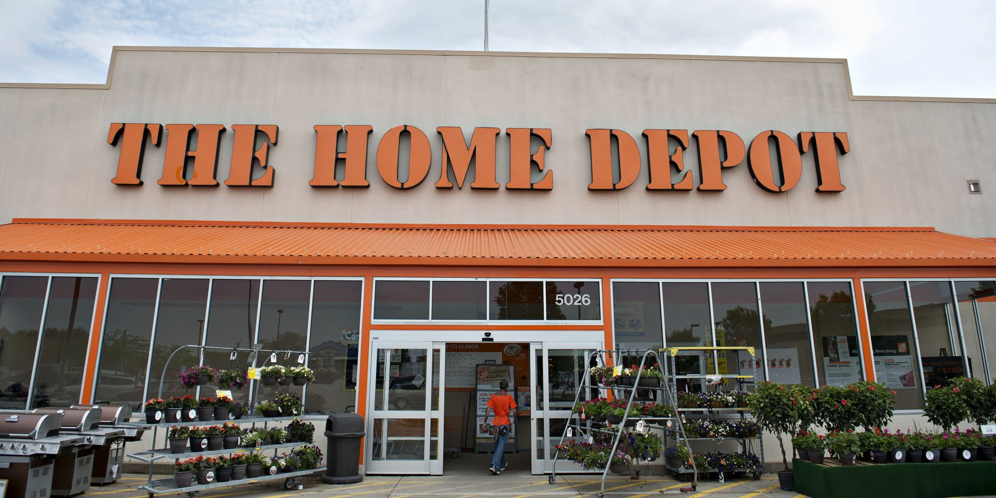 Home Depot 12Year Chart in Light of Stagnant Sales Forecast SRC